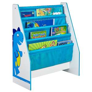 Dinosaurs Kids Sling Bookcase - Bedroom Storage  £19.99 + £4.49 delivery non prime @ Amazon