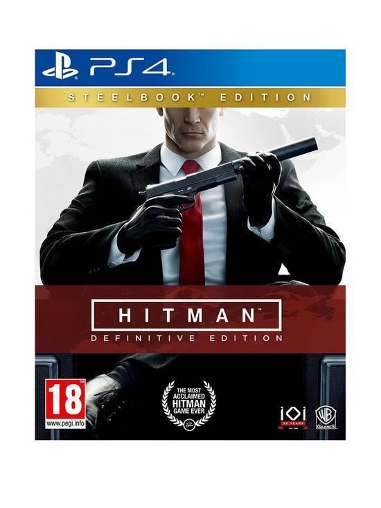 Hitman Definitive Steelbook Edition - PS4 £11.99 @ Very