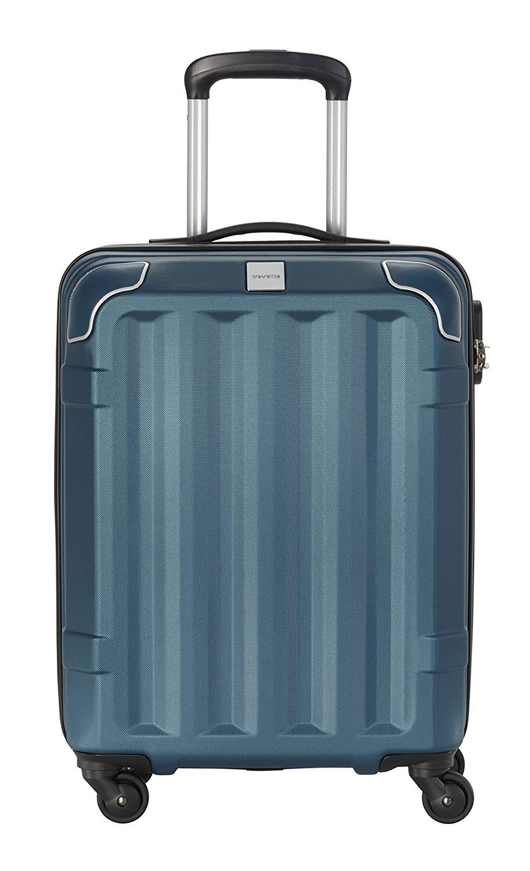 Travelite Corner Hard Shell Cabin Luggage 4 Wheel Suitcase Turquoise £26.45 @ Amazon