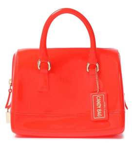 Furla Candy mini PVC red tote bag @ The Outnet 70% off £60.50 P&P included
