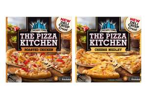 Chicago Town The Pizza Kitchen Roasted Chicken Pizza or Cheese Medley Pizza (385g) - £1.25 @ Iceland