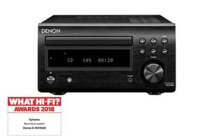 Denon DM41 DAB Mini System EXC Speakers  - £179 @ Richer Sounds