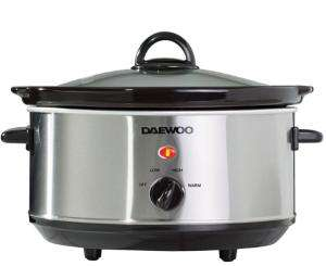Daewoo 3.5L Slow Cooker - Stainless Steel £9.99 In Store only @ Robert Dyas