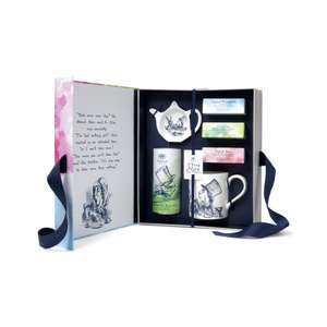 A Very Alice Tea Party Gift Set  (Usually £30) - £20 + £3.95 Delivery @ Whittard of Chelsea
