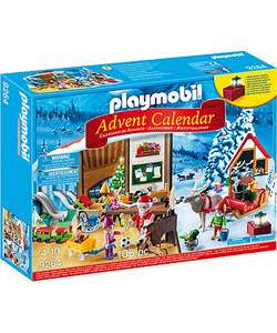 Playmobil 9264 Advent Calendar 160pc - £7.99 Mothercare with free C&C