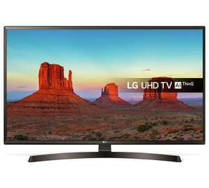 4k TV's in Argos - LG 43 Inch 43UK6400PLF Smart Ultra HD 4K TV £329