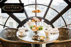 5* Hotel Gotham Afternoon Tea & Prosecco for 2 - £39 @ Wowcher / hotel gotham