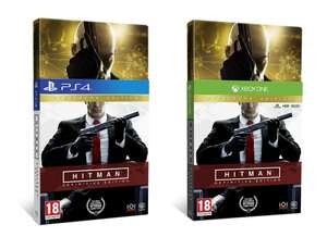 HITMAN Definitive Edition Steel Book (PS4/Xbox One) for £16.85 delivered @ ShopTo