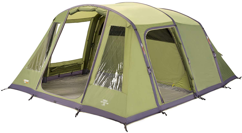 Vango Odyssey Inflatable Family Tunnel Tent, Epsom Green, Airbeam 600 - £206.98 @ Amazon