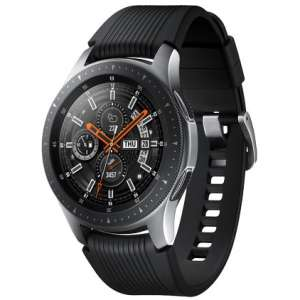 Samsung Galaxy Watch (46mm) Bluetooth + FREE wireless charger duo, worth £89 + Trade in up to £150 -  Max £274 w/ trade in @ Samsung