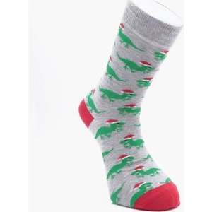 30% Off Everything inc Disney / Gifts + Free ND Del w/code @ Boohooman eg Christmas Dinosaur Socks £2.80 / Pack of 3 Candy Cane Socks £5.60