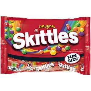 Skittles pack of 10 fun size bags  -50p instore @ Morrisons