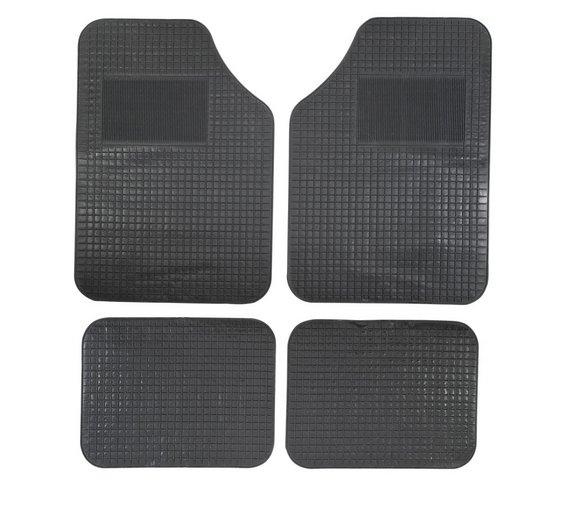 4 Car mats by Hilka £6.66  Argos