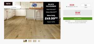 Website Bug? Infinite Free Samples @ UK Flooring Direct