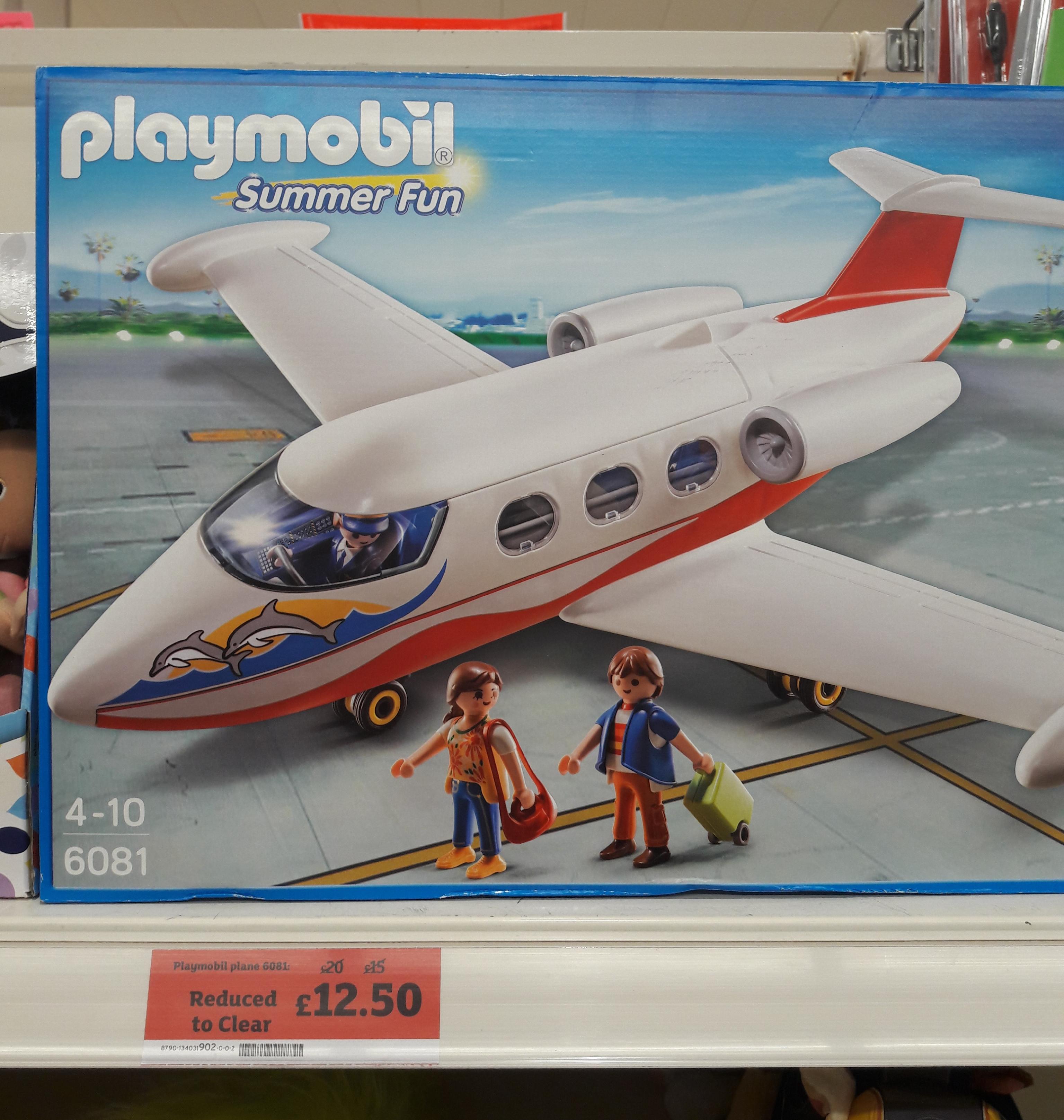 Playmobil 6081 Summer Fun Summer Jet was £20.00 now £12.50 @ Sainsbury's