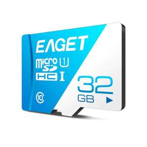 EAGET T1 Class 10 80MB/s TF Card 32GB - Royal Blue - £2.55 delivered @ Rosegal