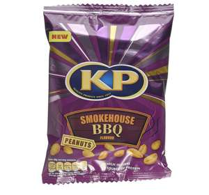 KP Smokehouse BBQ Peanuts, 225 g, Pack of 14 @ Amazon £10.21 Prime £14.70 Non Prime