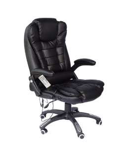 Executive Recline Extra Padded Massage Office Chair (Various colours available) @eBay
