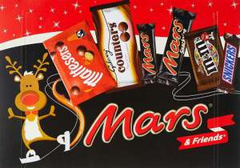 Mars & Friends Medium Selection Box, 144.3 g, Pack of 8 @ Amazon £8 Prime £14.49 Non Prime