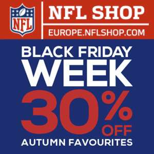 NFL Black Friday Extra Discount 15% off the 30% Sale @ NFL Shop