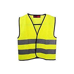 High Visibility Childrens Safety Vest Waistcoat Jacket Small (4 - 6 years) £2.10 @ Amazon /  COOZO UK