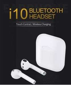 New 2019 i10 Tws EarPods Earbuds Wireless Smart Bluetooth Android iPhone £39.99  ebay UK