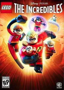 Lego The Incredibles PC + DLC Steam Key £11.15 with FB code @ CD KEYS