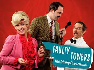 Faulty towers dining experience for two in London inc 3 course meal, £39.99 at Very, same deal £128 elsewhere free click and collect