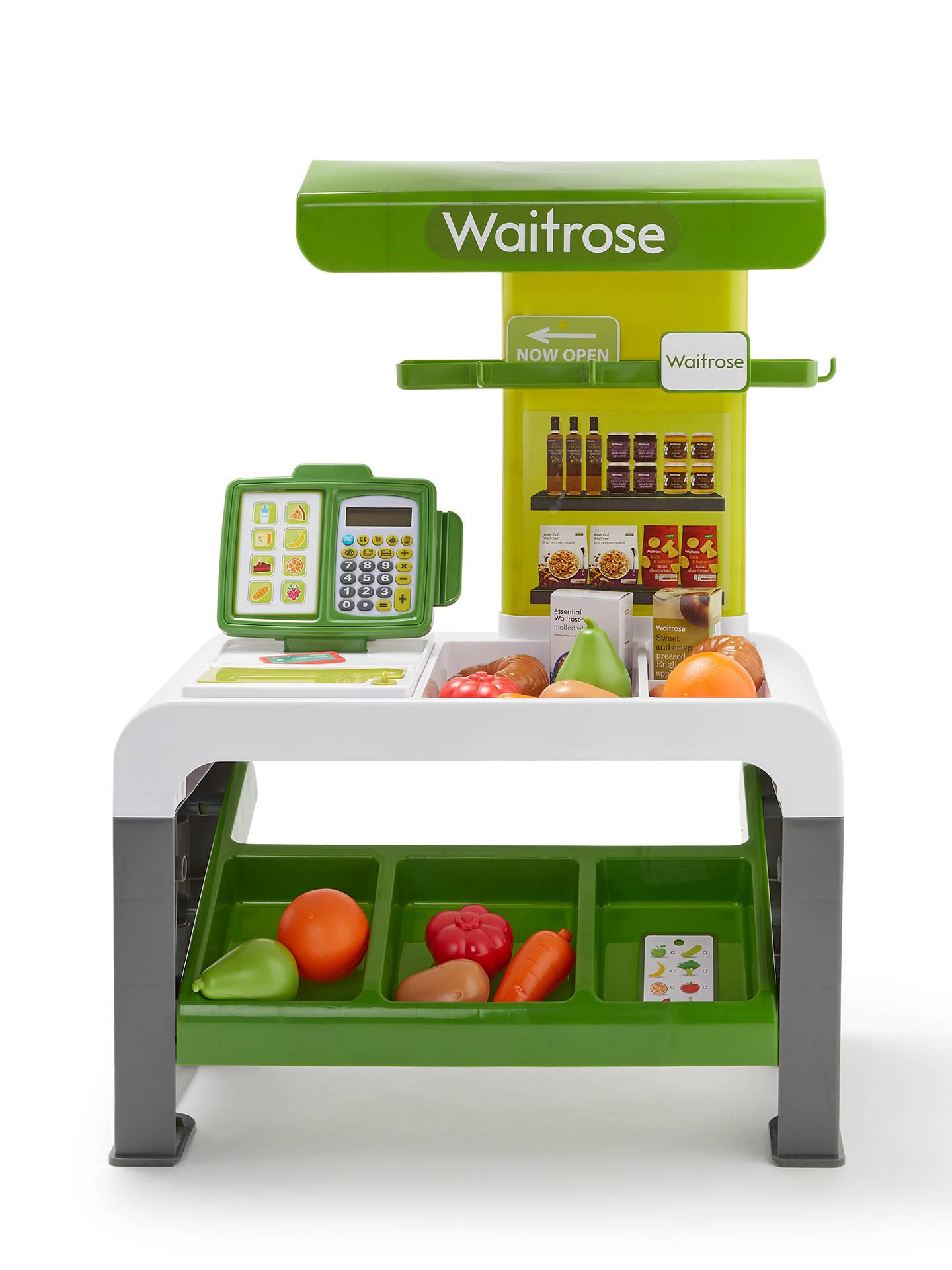 "John Lewis & Partners ""Pretend Play"" Waitrose Supermarket - £39.20 (Was £49)   Free C&C or £42.70 Delivered"