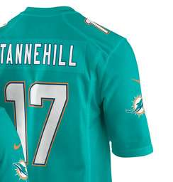 Ryan Tannehill (QB) 2017 Miami Dolphins Home Game Jersey - £40.95 Delivered @ Fanatics