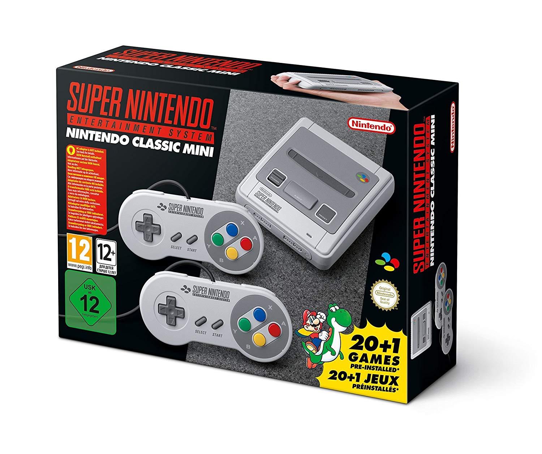 Nintendo Classic Mini: Super Nintendo Entertainment System  SNES £53 @ Amazon Italy