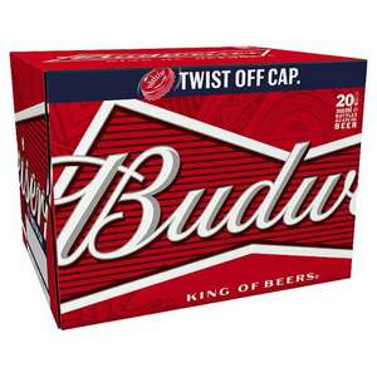 Budweiser 20 x 300ml bottles Tesco - £10