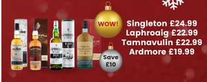 Selection Of Single Malt Whisky's  £10 Off @ Bargain Booze / Select Convenience