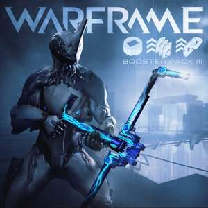 Warframe PlayStation Plus Booster Pack III - free for PS+ members.