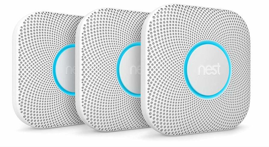 3 x Nest Protect Battery Operated Smoke Alarm £239.99 (Amazon)
