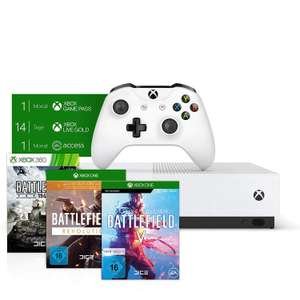 Xbox one s + 3 or 4 games - £183 at Amazon spain