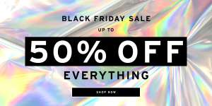 Black Friday Sale - Up to 50% off EVERYTHING + FREE worldwide shipping + Free Returns @ TOPMAN - prices from £1