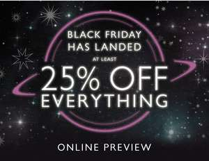 OASIS - BLACK FRIDAY Online Preview - At Least 25% off everything!