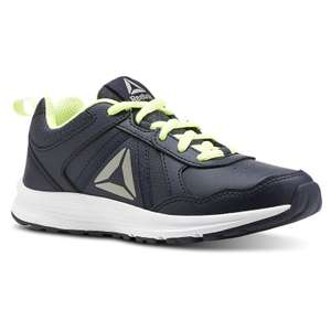 Junior Reebok Almotio 4.0 Trainers in sizes 3 up to 5.5 (was £24.95) Now £12.22 /  £16.17 delivered