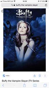 Buffy the Vampire Slayer £20.99 complete Series & Angel £14.99 at Google Play