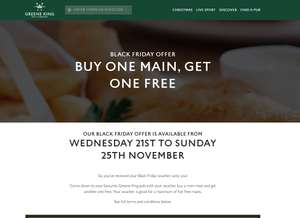 Black Friday ,check emails 2 for 1 mains @ Greene King pubs (Flaming Grill )