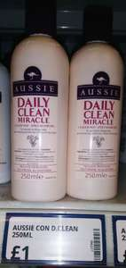 Poundstretcher: Aussie daily clean miracle conditioner 250ml, £1.00