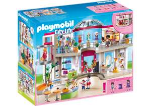 Playmobil Furnished Shopping Mall, 20% off plus free delivery using Code