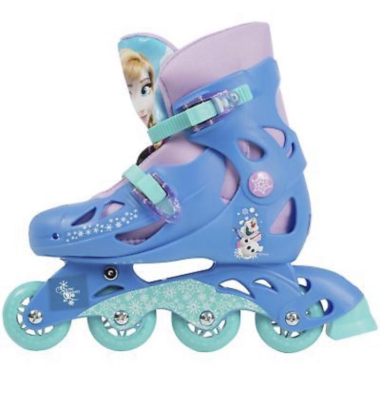 Disney Frozen Inline Skates - Size Child's 13 - Blue £5.99. Free postage @ eBay Argos