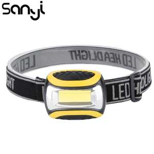 Mini COB LED Headlamp HeadTorch at aliexpress/sanyi for £1.51 delivered
