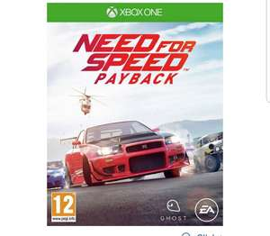 Need for speed payback xbox one £16.99 @ Argos