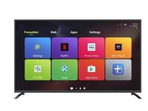 "electriQ 65"" 4K Ultra HD LED Android Smart TV with Freeview HD £527.97 @ Appliancesdirect"