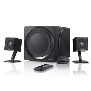 Creative T4 Wireless 2.1 Wireless Speaker System + Free Creative Wireless Bluetooth Headphones worth £54.99 - £189.99