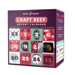 Beer Advent Calendar 2018 24 Different beers + Free next day shipping - reduced from £69.99 with link and code - £40.45