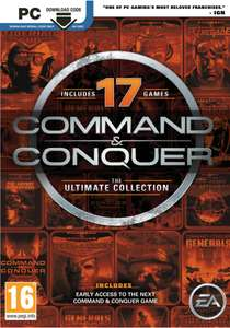 [PC] Command and Conquer - The Ultimate Collection - £3.55 - Gamivo